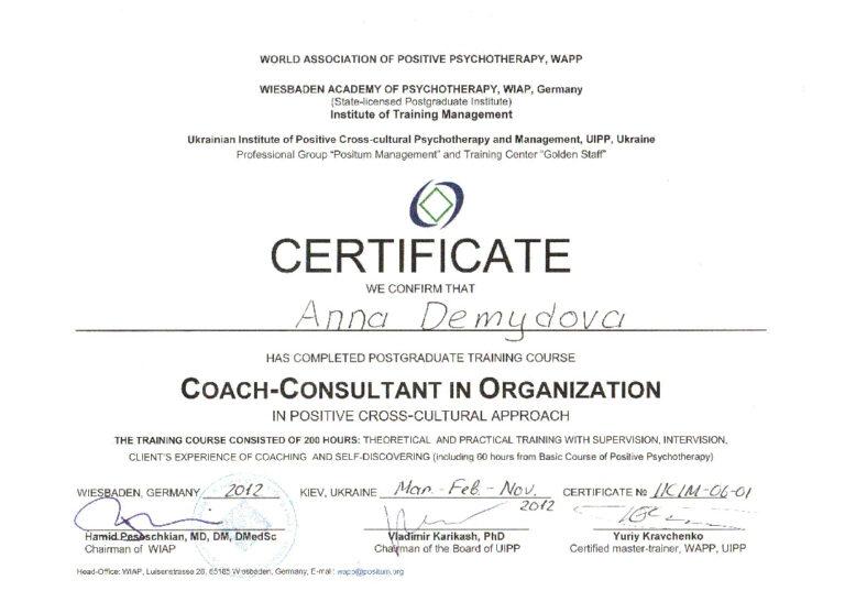 Kouching-organizacij